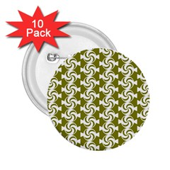 Candy Illustration Pattern 2 25  Buttons (10 Pack)  by creativemom