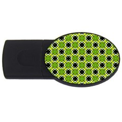 Cute Pattern Gifts Usb Flash Drive Oval (4 Gb)  by creativemom