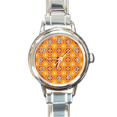 Cute Pattern Gifts Round Italian Charm Watches by creativemom