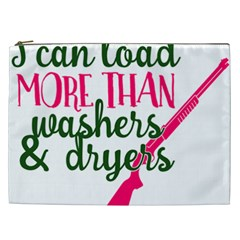 I Can Load More Than Washers And Dryers Cosmetic Bag (xxl)  by CraftyLittleNodes