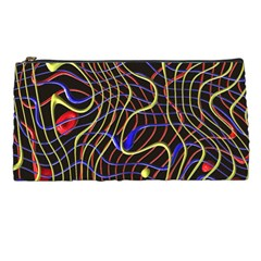 Ribbon Chaos 2 Black  Pencil Cases by ImpressiveMoments