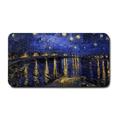Vincent Van Gogh Starry Night Over The Rhone Medium Bar Mats