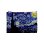 Van Gogh Starry Night Cosmetic Bag (Medium)  Front