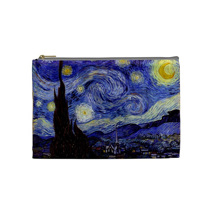 Van Gogh Starry Night Cosmetic Bag (Medium)