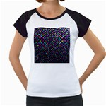 Polka Dot Sparkley Jewels 2 Women s Cap Sleeve T