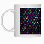 Polka Dot Sparkley Jewels 2 White Mugs