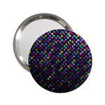 Polka Dot Sparkley Jewels 2 2.25  Handbag Mirrors