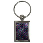 Polka Dot Sparkley Jewels 2 Key Chains (Rectangle)