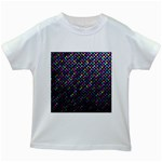 Polka Dot Sparkley Jewels 2 Kids White T-Shirts