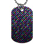 Polka Dot Sparkley Jewels 2 Dog Tag (Two Sides)