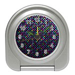 Polka Dot Sparkley Jewels 2 Travel Alarm Clocks