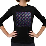 Polka Dot Sparkley Jewels 2 Women s Long Sleeve Dark T-Shirts