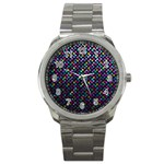 Polka Dot Sparkley Jewels 2 Sport Metal Watches