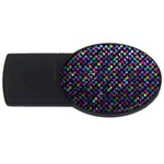 Polka Dot Sparkley Jewels 2 USB Flash Drive Oval (4 GB)