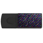 Polka Dot Sparkley Jewels 2 USB Flash Drive Rectangular (4 GB)