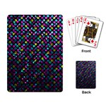 Polka Dot Sparkley Jewels 2 Playing Card