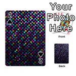 Polka Dot Sparkley Jewels 2 Playing Cards 54 Designs