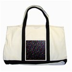 Polka Dot Sparkley Jewels 2 Two Tone Tote Bag