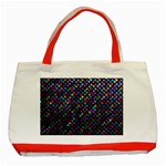 Polka Dot Sparkley Jewels 2 Classic Tote Bag (Red)