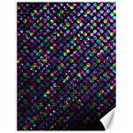Polka Dot Sparkley Jewels 2 Canvas 12  x 16