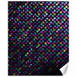 Polka Dot Sparkley Jewels 2 Canvas 16  x 20