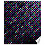 Polka Dot Sparkley Jewels 2 Canvas 20  x 24