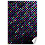 Polka Dot Sparkley Jewels 2 Canvas 20  x 30