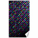 Polka Dot Sparkley Jewels 2 Canvas 40  x 72
