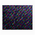 Polka Dot Sparkley Jewels 2 Small Glasses Cloth (2-Side)