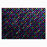 Polka Dot Sparkley Jewels 2 Large Glasses Cloth (2-Side)
