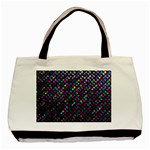 Polka Dot Sparkley Jewels 2 Basic Tote Bag (Two Sides)