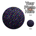Polka Dot Sparkley Jewels 2 Multi-purpose Cards (Round)