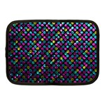 Polka Dot Sparkley Jewels 2 Netbook Case (Medium)