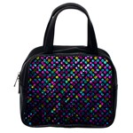 Polka Dot Sparkley Jewels 2 Classic Handbags (One Side)