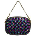 Polka Dot Sparkley Jewels 2 Chain Purses (One Side)