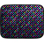 Polka Dot Sparkley Jewels 2 Fleece Blanket (Mini)
