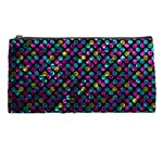Polka Dot Sparkley Jewels 2 Pencil Cases