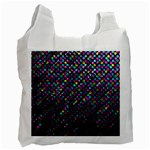Polka Dot Sparkley Jewels 2 Recycle Bag (Two Side)