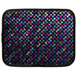 Polka Dot Sparkley Jewels 2 Netbook Case (XXL)