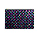 Polka Dot Sparkley Jewels 2 Cosmetic Bag (Large)