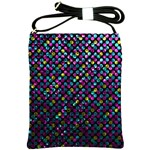 Polka Dot Sparkley Jewels 2 Shoulder Sling Bags