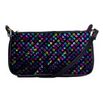 Polka Dot Sparkley Jewels 2 Shoulder Clutch Bags