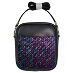 Polka Dot Sparkley Jewels 2 Girls Sling Bags