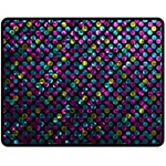 Polka Dot Sparkley Jewels 2 Fleece Blanket (Medium)