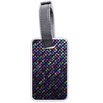 Polka Dot Sparkley Jewels 2 Luggage Tags (One Side)