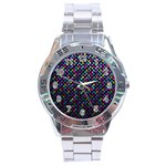 Polka Dot Sparkley Jewels 2 Stainless Steel Men s Watch