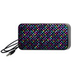 Polka Dot Sparkley Jewels 2 Portable Speaker (Black)