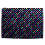 Polka Dot Sparkley Jewels 2 Cosmetic Bag (XXL)