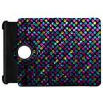 Polka Dot Sparkley Jewels 2 Kindle Fire HD Flip 360 Case