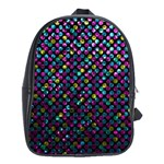 Polka Dot Sparkley Jewels 2 School Bags (XL)